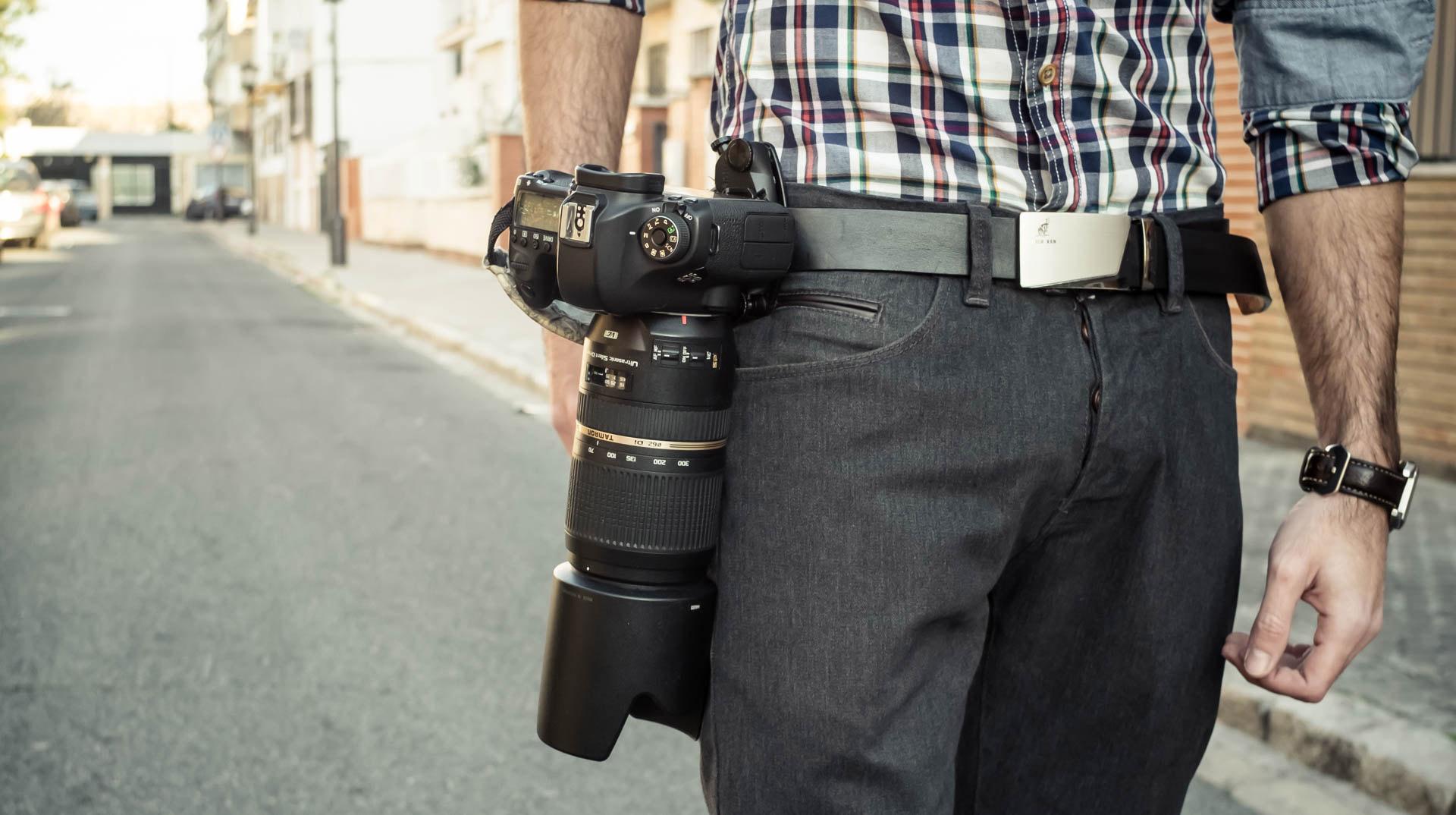 Capture: Un Ingenioso Clip para Sujetar tu Cámara a Cualquier Correa