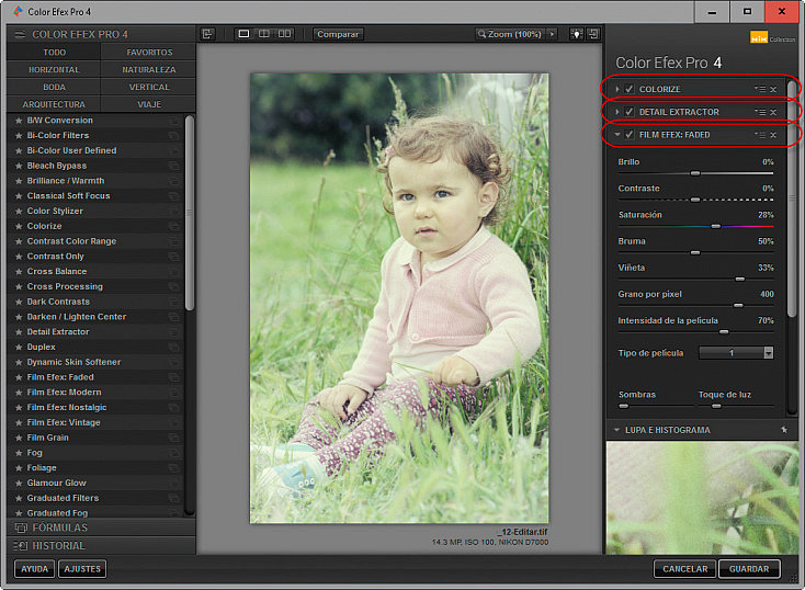 Color Efex Pro 4 - Varios Filtros