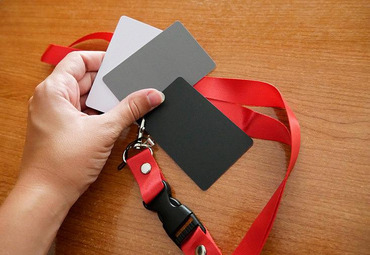 carta de grises y su relación con la temperatura de color