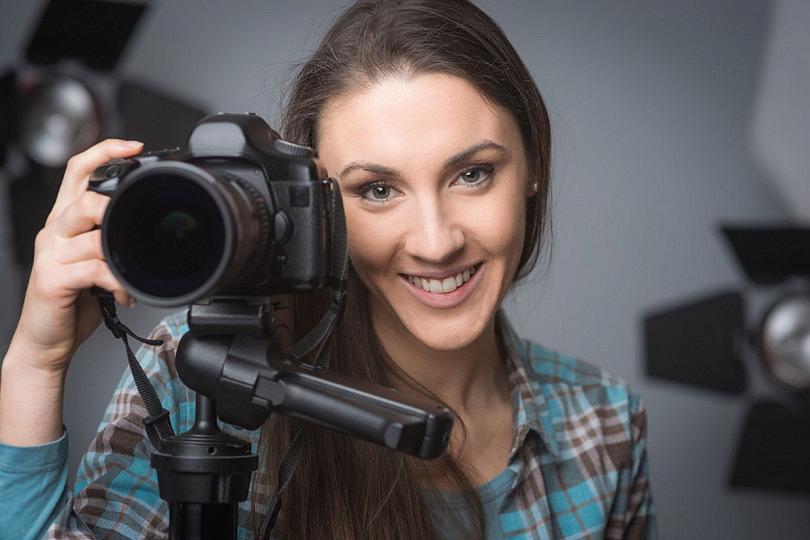 Cómo usar el trípode de la cámara