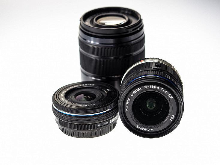 objetivos y la distancia focal