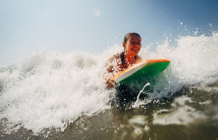 cámara deportiva waterproof
