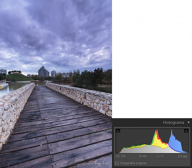 16mm, f/11, 8s, ISO 100, filtro degradado Ray Masters ND8 Reverse