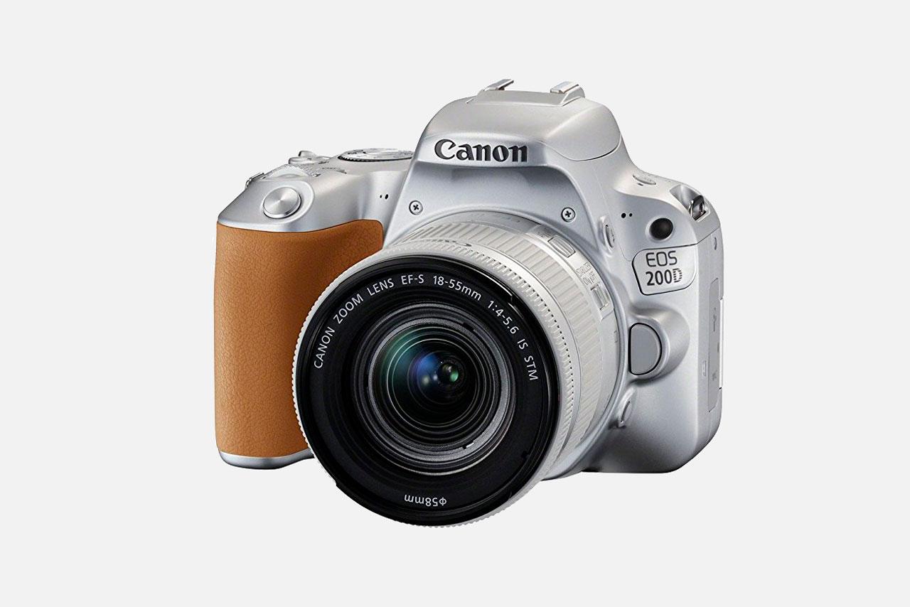 Canon EOS 200D, Pequeña, Ligera y con Mucho Estilo