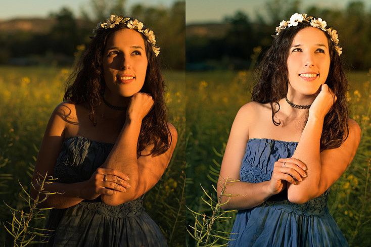 Cómo Compensar la Luz del Sol en tus Retratos en Exterior con un Flash de Mano