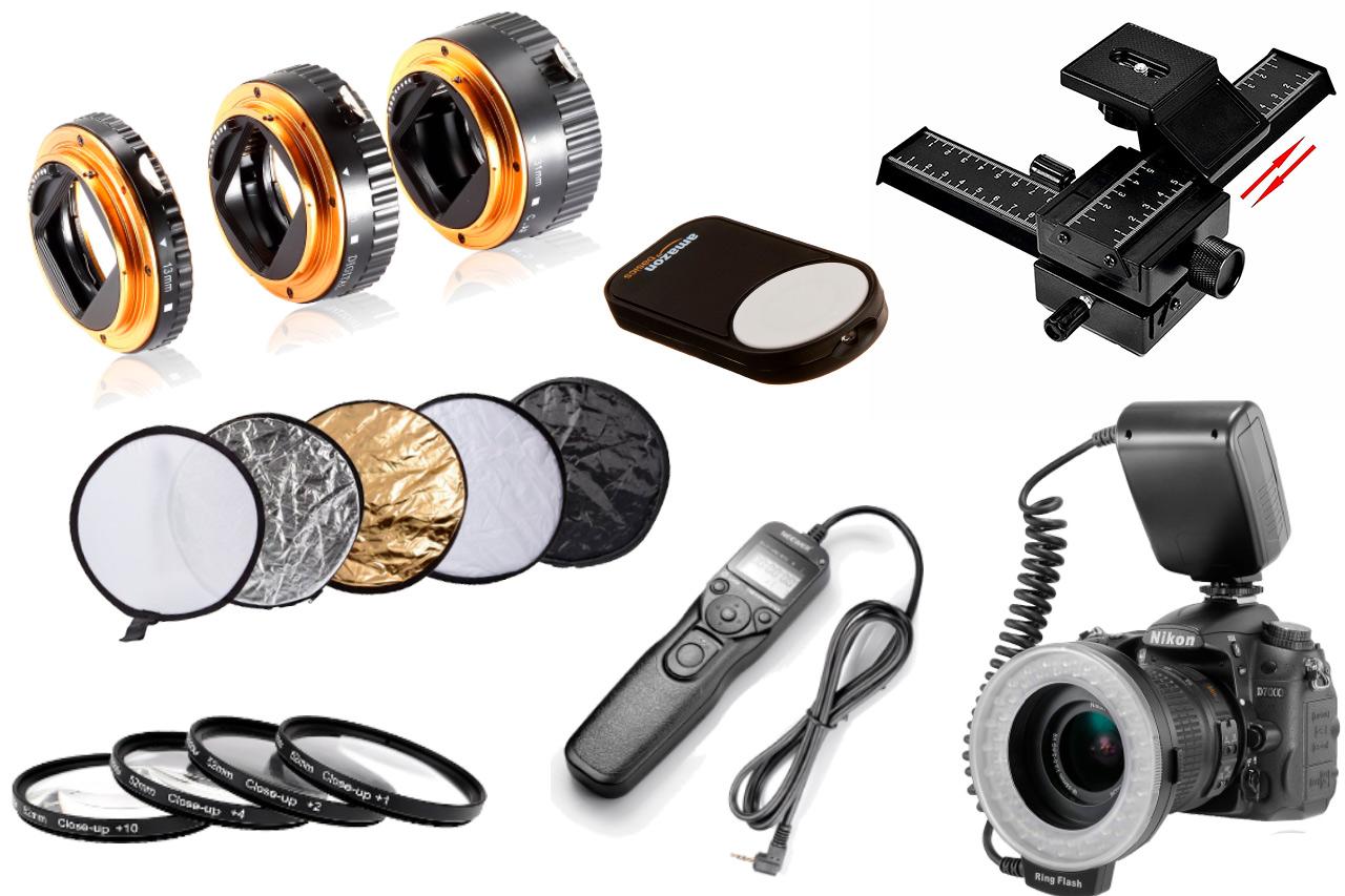 10 accesorios recomendables para fotograf a macro for Accesorios para estanques de peces
