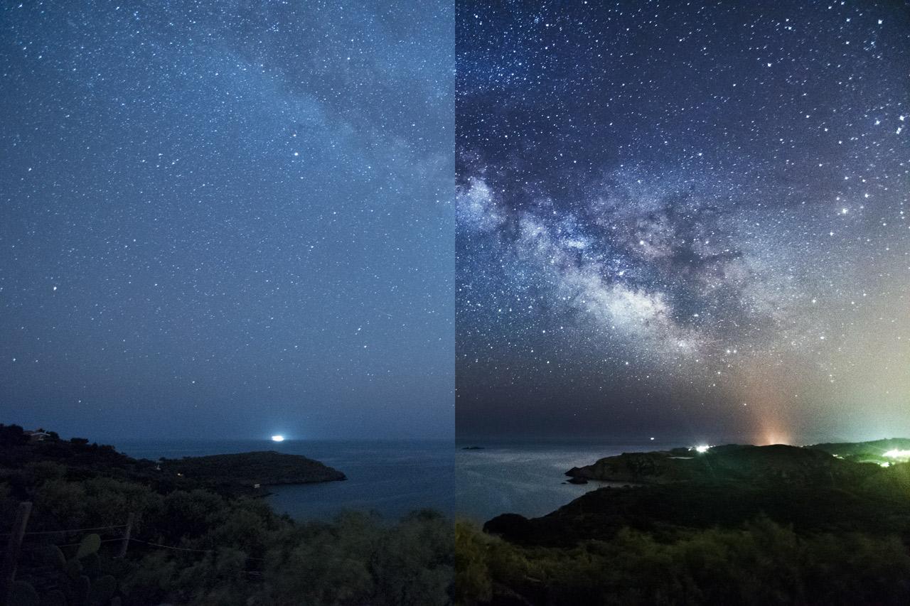 Consigue una Vía Láctea Increíble con estas 5 Técnicas de Edición en Lightroom y Photoshop