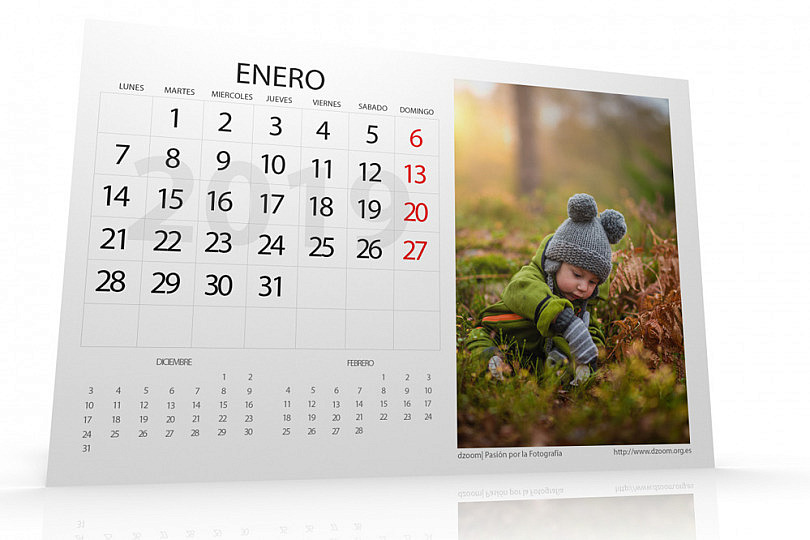 c5d4a4e8c Ya Está Listo Para Descargar el Calendario 2019 Personalizable de dzoom