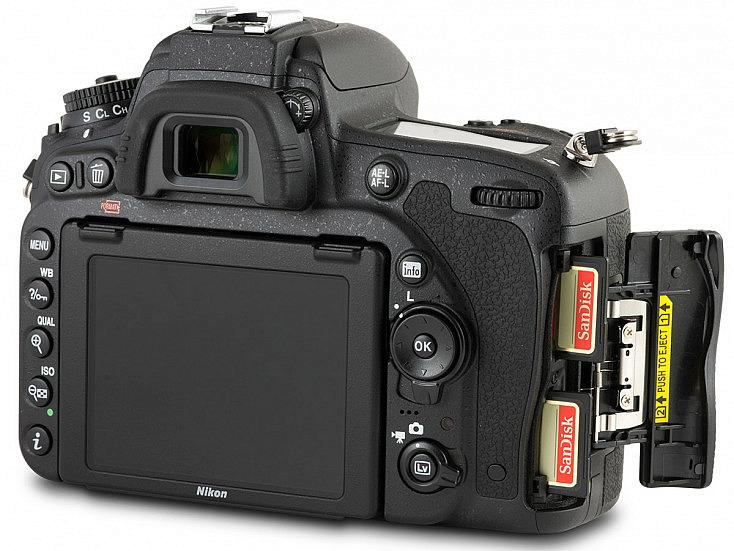 Nikon D750 - 2 ranuras tarjeta SD