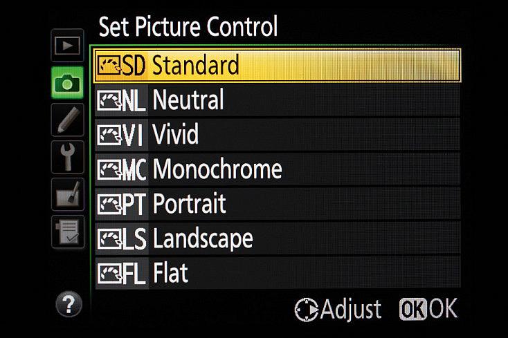 Nikon Picture Control